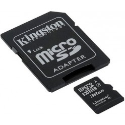 Карта памяти Kingston microSD 32 GB Class 4 (+ SD адаптер)