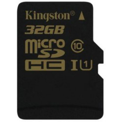 Карта памяти Kingston microSDHC 32 Gb UHS-I no ad U1 (R90, W45MB/s)