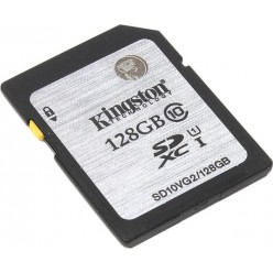 Карта памяти Kingston SDXC 128 GB G2 (CLASS 10) UHS-I