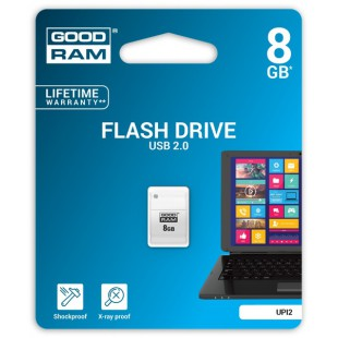 Flash Drive Goodram PICCOLO 8 GB WHITE