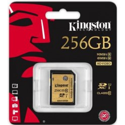 Карта памяти Kingston SDHC 256 GB (CLASS 10) UHS-I Ultimate