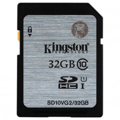 Kарта памяти Kingston SDHC 32 GB G2 (CLASS 10) UHS-I
