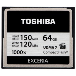 Карта памяти Toshiba Compact Flash 64 Gb 1000x (R150, W120MB/s)