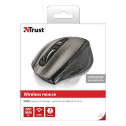 Мышь компьютерная Trust Kerb Wireless Laser Mouse