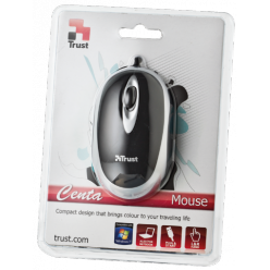 Мышь компьютерная Trust Centa Mini Mouse - Black