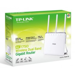 Беспроводной маршрутизатор TP-Link Archer C8 AC1750 Wireless Dual Band Gigabit Router