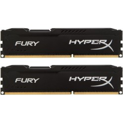 Оперативная память Kingston HyperX OC KIT DDR3 2 х 8 GB 1866 MHz CL10 Fury Black