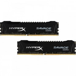 Оперативная память Kingston HyperX OC KIT DDR4 2x4Gb 2800Mhz CL14 Savage Black