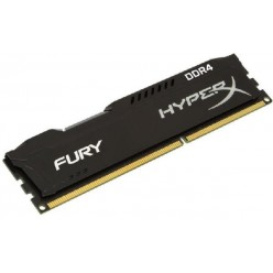 Оперативная память Kingston HyperX OC DDR4 4Gb 2400Mhz CL15 Fury Black