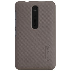Чехол Nillkin Nokia Asha 501 - Super Frosted Shield Brown