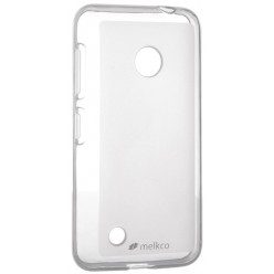 Чехол Melkco Nokia Lumia 530 Poly Jacket TPU Transparent