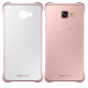 Чехол Samsung A710 - Clear Cover Pink Gold