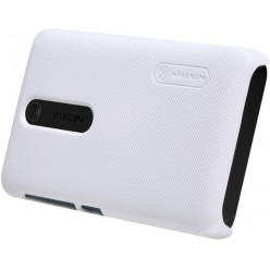 Чехол Nillkin Nokia Asha 501 - Super Frosted Shield White