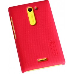 Чехол Nillkin Nokia Asha 502 - Super Frosted Shield Red