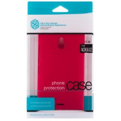 Чехол Nillkin Nokia X2 - Super Frosted Shield Red