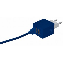 Зарядное устройство Trust URBAN Dual Smart Wall Charger BLUE