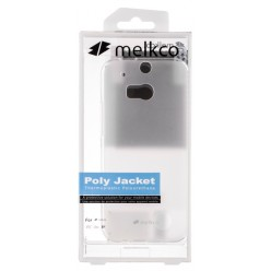 Чехол Melkco HTC One M8 Poly Jacket TPU Transparent