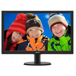 "Монитор Philips 23.8"" 240V5QDSB/01 16:9 IPS DVI HDMI Black"