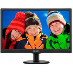 LED-монитор Philips 193V5LSB2/62 Black