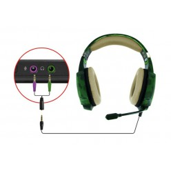 Наушники Trust GXT 322C Gaming Headset Green Camouflage