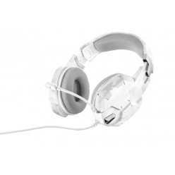 Наушники Trust GXT 322W Gaming Headset White Camouflage