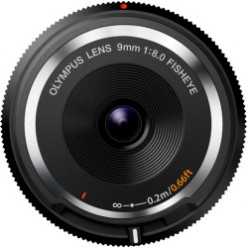Объектив Olympus BCL-0980 Fish-Eye Body Cap Lens Black